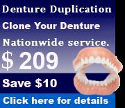 Duplicate Dentures