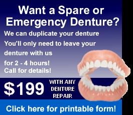 Denture reline service hard soft and temporary denture reline duplicate spare clone emergeny denture solutioingenieria Images
